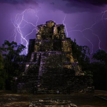 Temple maya Aenigma live escape game